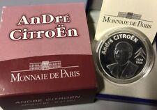 France 2008 ANDRE CITROEN 1,50 euros Silver Proof silber argent 1/2 €