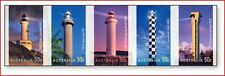 AUS0611 Light-houses 5 stamps MNH AUSTRALIA