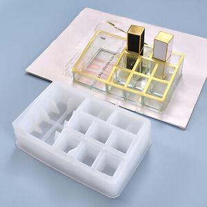 Silikonform Epoxidharz Lippenstift Gießform Epoxy KOsmetikständer GG14