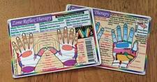 HAND REFLEXOLOGY Laminated Wallet Card!