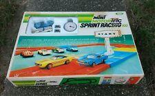 Ideal Mini Motorific Sprint Racing 100 Set Corvette Mustang Stop Watch NICE !