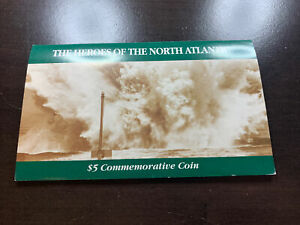 1993 $5 Heroes of North Atlantic Coin
