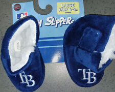 MLB Tampa Bay Rays Infant/Baby/Newborn Slippers/Booties/Shoes6-9 Month NEW