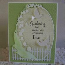 Lily of The Valley Frame Metal Cutting Dies Craft Scrapbooking Card Making Album