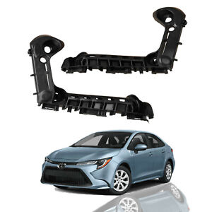 For2019 2021Toyota Corolla LE XLEFront Bumper Brackets Retainers Left Right