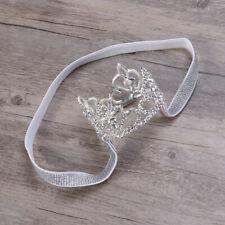 1PC Headband Crown Elastic Tiara Hair Loop Headdress Hairband for Toddlers Girls