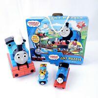 Thomas & Friends Train/ Lot of 4  - Wooden Puzzle - Flashlight- 2 Thomas Train