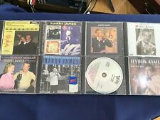 Harry James Collection of 8 Different CD's     L3416