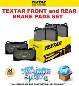 TEXTAR FRONT + REAR PADS for MERCEDES CLS Shooting CLS 350 CDI 2012-2014