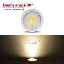 GU10 MR16 LED Bulb Spotlight COB Chip 120 30 Beam Angle 3W 4W 5W Table Lamp 220V