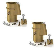 "Perma-Cast 4"" Bronze Anchor Socket 2 Pack 1.9""-Ps-4019-Bc"
