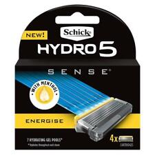 Schick Hydro 5 Sense ENERGISE Blade 4 PACK Refill (10% off for 2 or more) - New