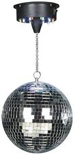 """CHEETAH 8"""" 200MM MIRROR BALL + BATTERY OPERATED MOTOR WITH 18 MULTI-COLOUR LEDS"""