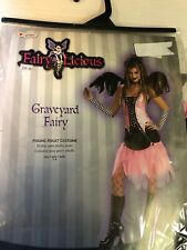 Graveyard Fairy Fairylicious Halloween Costume Teen Size 7-9 New