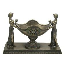 Art Deco - Egyptian Maidens Coupe - Egyptian Sculpture - Cold Cast Bronze