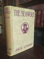 VINTAGE The Sea Wolf By Jack London Hardcover 1931 Edition