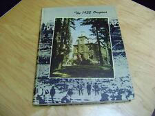 University of Oregon, EUGENE  Oregana Yearbook 1952    LARGE AWESOME BOOK