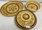 Vintage Franciscan Honeycomb Pottery Casserole Dish/Serving Plate/Veg Dish #504