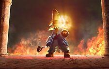 Póster A3 Vivi Final Fantasy IX Wizard Videojuego Videogame Cartel 01