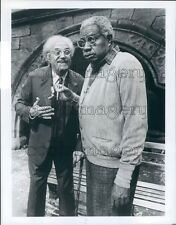 1987 Actors Hal Linden Ossie Davis I'm Not Rappaport Broadway Play Press Photo
