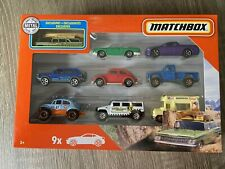 "2020 Matchbox 9 PACK ""Gift Pack Exclusive"" `59 Chevy Wagon CAMP ARROW-FLINT RARE"