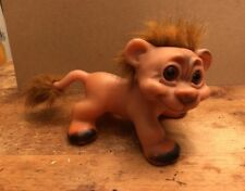 """DAM 90's LION TROLL 7-1/2"""" L CARMEL HAIR With TAIL LIMITED EDITION"""