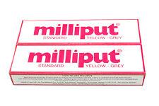 2 Packs Standard Yellow Grey Milliput Epoxy Putty Modelling Car Body X1015a