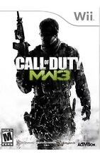 NINTENDO WII GAME CALL OF DUTY: MODERN WARFARE 3 Video Game