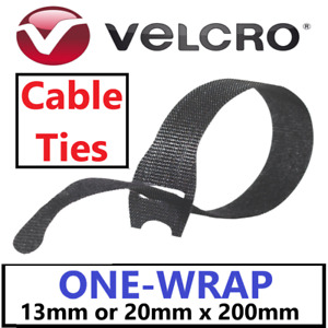 VELCRO® Brand ONE-WRAP® Cable Ties Strapping Hook & Loop Cable Tidy Straps