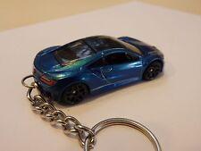 Hot Wheels 2017 Honda Acura NSX Model Keyfob Keychain Keyring