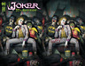 Joker 80th Anniversary - Ryan Brown - Trade/Virgin Variant Set - DC