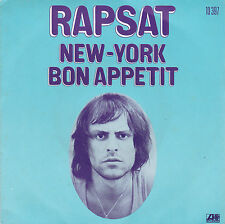 PIERRE RAPSAT NEW-YORK / BON APPETIT FRENCH 45 SINGLE