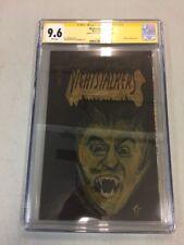 Tom Palmer Original Art Nightstalkers #10 Dracula Cgc 9.6 NM SS Signature Comic