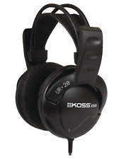 Over The Ear Headphones Wired Black Flexible Clear Sound...