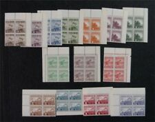 nystamps US Philippines Stamp # N12-N25 Mint OG NH $170 Rare In Blocks