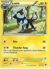 POKEMON XY BREAK-POINT CARD - LUXIO 45/122