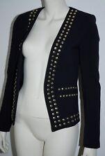 MICHAEL KORS * festlicher Blazer * edle Jacke * Blau & Gold * Größe 34