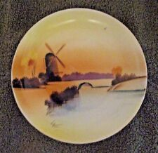 Meito China Plate - Vintage Hand Painted