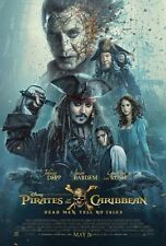 Pirates Caribbean Dead Men Tell Original Movie Poster DS Double Sided 27 x 40