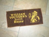 William Younger's Scotch Bitter Bar towel New