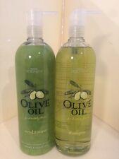 NEW REGIS Designline OLIVE OIL SHAMPOO & CONDITIONER 33.8 Oz Each Free Shipping