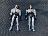 ROBOCOP - 2 x Vintage Talking action figures 1993 & 1995 Kenner
