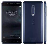 BRAND NEW Nokia 3 SIM FREE Smartphone 2GB RAM 16GB 4G LTE TEMPERED BLUE