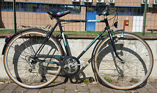 Bike City Vintage Bianchi Splügen 5 V Steel Fahrrad Made in Italian