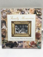 Family Memories Scrapbook Picture Album The Times We've Shared Vintage