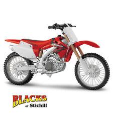 1:12 Maisto Escala Honda CRF450R MODELO DIECAST Motocross Moto Rojo