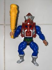 Vintage 1983 Mek-A-Nek MotU He-Man Figurine COMPLETE w/ Club and Armor