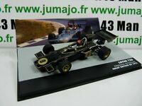 SEN4T eaglemoss 1/43 F1 BRESIL Formule 1 LOTUS 72D E.Fittipaldi UK 1972 #8