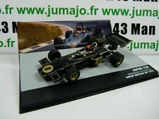SEN4T eaglemoss 1/43 F1 BRESIL Formule 1 LOTUS 72D E.Fittipaldi UK 1972 #8
