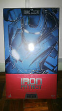 Hot Toys Iron Man 3 III Patriot Diecast figure 1/6 NEW Comme neuf IN BOX MMS195D01